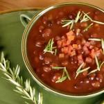Бобовый суп с фасолью и чечевицей