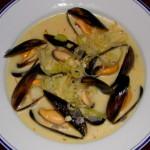 Французский суп с мидиями