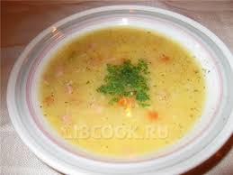 Охотничий сырный суп