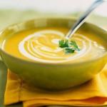 Овощной крем-суп с рисом и кабачками