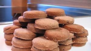 Песочно-шоколадное печенье