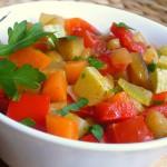 Рагу из овощей в сметанном соусе