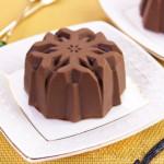 Шоколадно-ванильное желе