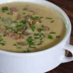 Суп «черепаховый» с сыром