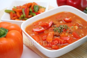 Суп домашний с лечо