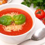 Суп с помидоров и сыра