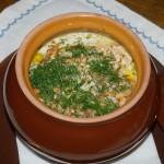 Рыбный суп в горшочке