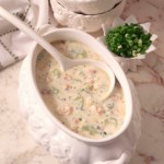 Cливочный суп из устриц