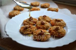 Морковно-яблочное печенье (постное)