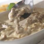 Кальмар с яично-масляным соусом