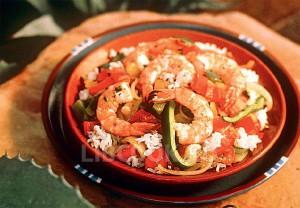 Креветки с рисом по-мексикански