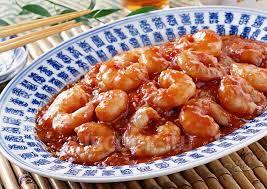 Креветки в томатно-чесночном соусе