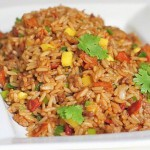 Рис с жареными креветками по-китайски