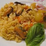 Устрицы с рисом