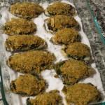 Устрицы запеченные в сухарях