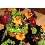Грибное рагу c вареными овощами «На цветочной поляне»