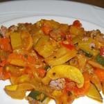 Рагу из овощей с шампиньонами «Гармония»