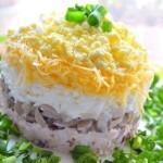 Салат «Поющие сирени»